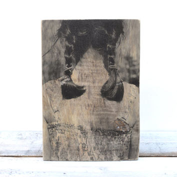 Custom Wood Photo. Photo on Wood. Wooden photograph. 5th Anniversary Gift. Wood Portrait. Wood Photo Transfer.
