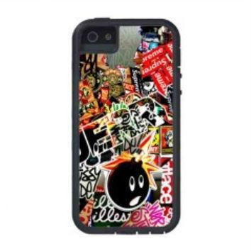 Sticker Bomb Supreme and illest for iphone 5s case