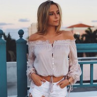 "Blush ""Samantha"" top"