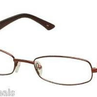 NEW AUTHENTIC FENDI F 905 F905 COL 519 BURGUNDY METAL EYEGLASSES FRAME 52-19-130
