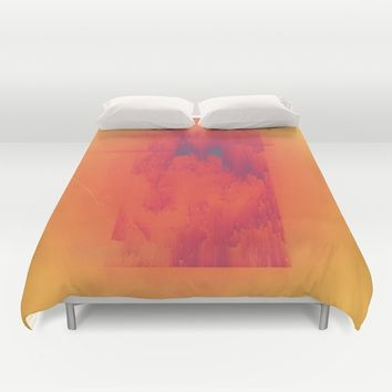 Body Heat Duvet Cover by DuckyB