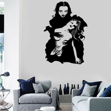 Wall Stickers Vinyl Decal Vampire Twilight Gothic Teen Scary Creepy Unique Gift (z2228)