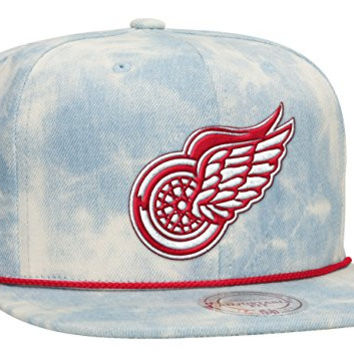 Mitchell & Ness Snap Back HAt (One Size Fits All) Detroit Red Wings