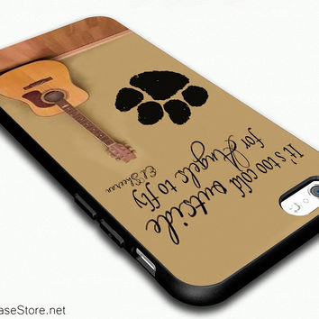 Ed Sheeran Guitar and Song Quotes Case Cover For iPhone 6 - iPhone 6 Plus