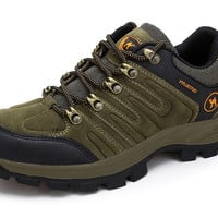 Mens Rugged Outdoor Hiking Boots