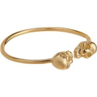 Loren Stewart Gold Baby Skull Ring at Barneys.com