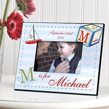Personalized Children's Baby Newborns Frames Free Engraving