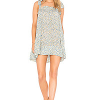 FAITHFULL THE BRAND Ocean Dip Dress in Dahlia Floral Print | REVOLVE