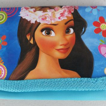 Brand New Disney Moana Blue Wallet