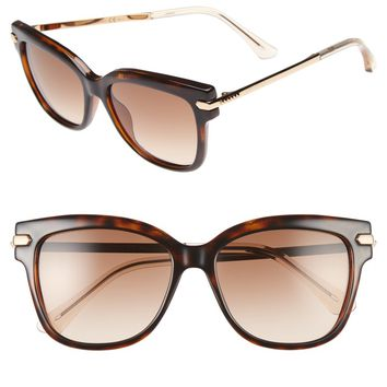 Jimmy Choo Aras 54mm Cat Eye Sunglasses | Nordstrom