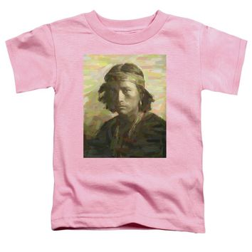 Portrait Of A Navajo Youth 1 - Toddler T-Shirt