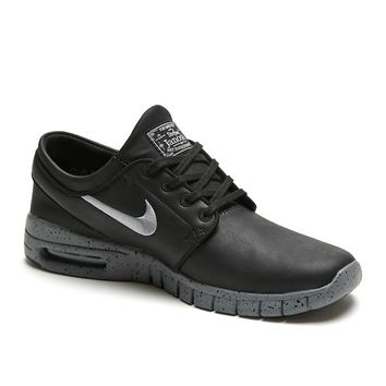 Nike SB Stefan Janoski Max L NYC Shoes - Mens Shoes - Black 694941409