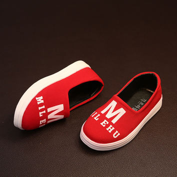 Summer Children Korean Vans Shoes [4919305540]
