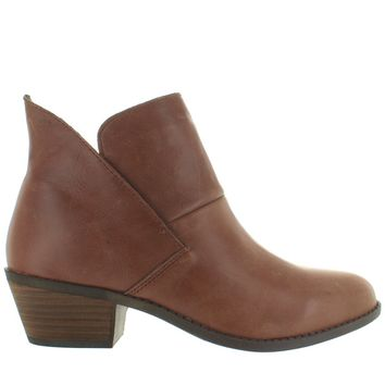 Me Too Zena - Luggage Leather Pull-On Bootie