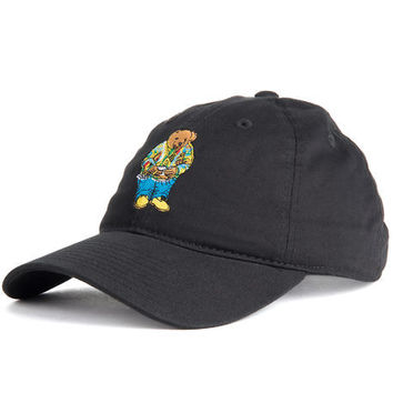 Biggie Bear (black) dad hat
