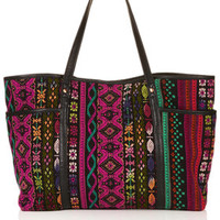 Tapestry Poppins Tote Bag - Multi