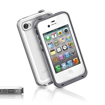 The White LifeProof Case for the iPhone 4/4s