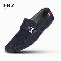 2016 FRZ Men Loafers Breathable Leather Men's Flats Shoes Summer Spring casual shoes For Man Brand Sapatos Masculinos CE86803