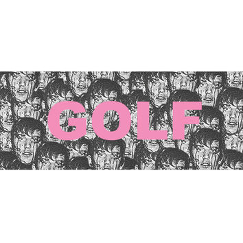 "PUNK FACE 8.5"" STICKER – golfwang"