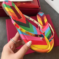 Valentino Casual Fashion Women Sandal Slipper Shoes