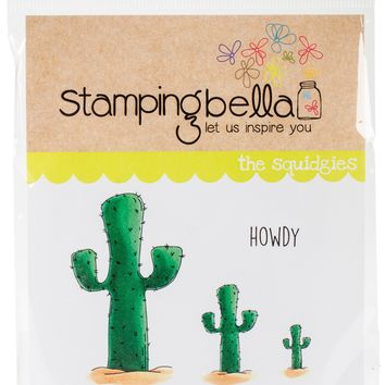 Stamping Bella Cling Stamps-Cactus Squidgy
