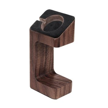 Apple Watch Stand, eLander™ Handcrafted Wood Stand Apple Watch Charging Dock / Station / Platform iWatch Charging Stand Bracket Docking Station Holder for 2015 Apple Watch 38/42mm Sport Edition All Models (Walnut)