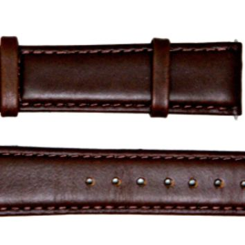 Remy Spring Brown Italian Leather Strap
