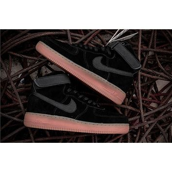 Nike Air Force 1 High ¡®07 Lv8 Suede Black Raw Aa1118 001 | Best Deal Online