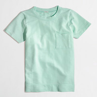 FACTORY SHORT-SLEEVE POCKET SWEATSHIRT