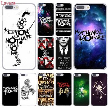 Lavaza My Chemical Romance Hard Coque Shell Phone Case for Apple iPhone 8 7 6 6S Plus X 10 5 5S SE 5C 4 4S Cover