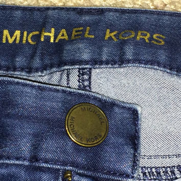 Sale!! Vintage Michael Kors american designer casual jeans pants size 2 Free US Shipping