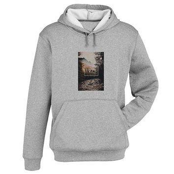 1975 Hoodie Sweatshirt Sweater Shirt Gray and beauty variant color for Unisex size