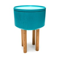 MONOQI | Round Hat Table - Turquoise