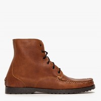 Quoddy Perry Boot in Grizzly Peanut