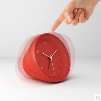 Style Stylish Strong Character Innovative Lovely Quiet Clock [6432392326]