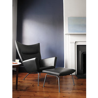 Wing Chair Leather - Design Within Reach