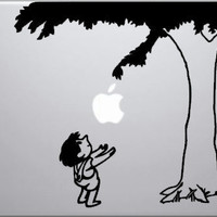 Giving Tree decal for 13 MacBook by VinylJunkies2012 on Etsy