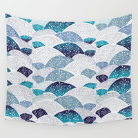 Hills and Hills Wall Tapestry by rskinner1122