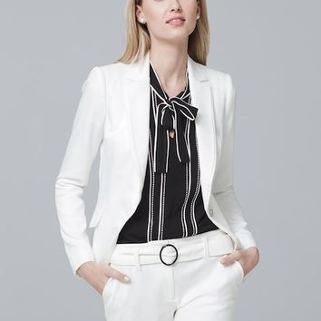 White House Black Market Single-Button Blazer Jacket