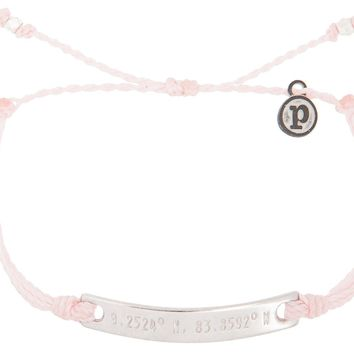 Silver Coordinates Light Pink