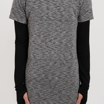 TS033 Stealth Tech Tee - Charcoal
