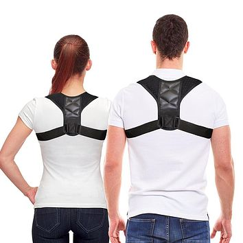 Adjustable Clavicle Back Shoulder Support Brace Unisex Posture Corrector