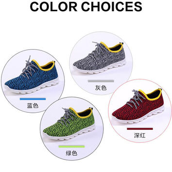 2017 spring new coconut shoes men leisure breathable outdoor shoes breathable flat shoes
