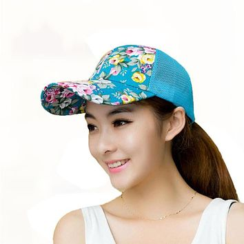 SIF Embroidery Cotton Baseball Cap Boys Girls Snapback Hip Hop Flat Hat MAY 24
