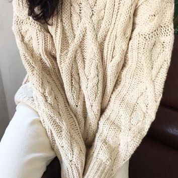 Waltham Cable Knit Sweater