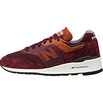 "New Balance 997 ""Made in USA"" Connoisseur Retro Ski - Purple Heather/Cathay Spice"
