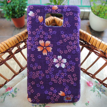 Japanese Fabric Phone Case - Japan Cherry Blossom