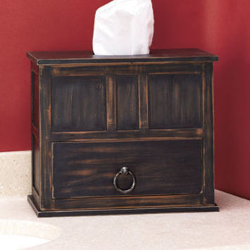 Tissue Box with Storage