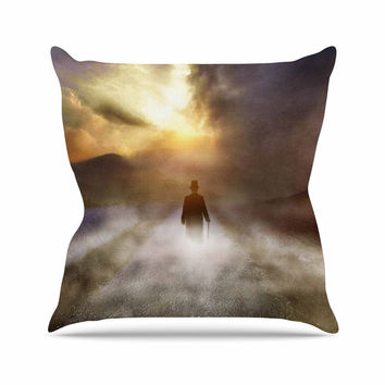 "Viviana Gonzalez ""Day Dream"" People Multicolor Outdoor Throw Pillow"