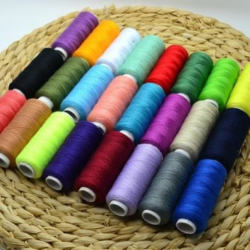 Polyester Thread - 24 Spools All Purpose Sewing and Quilting
